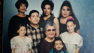 Leocardia Castaneda Family