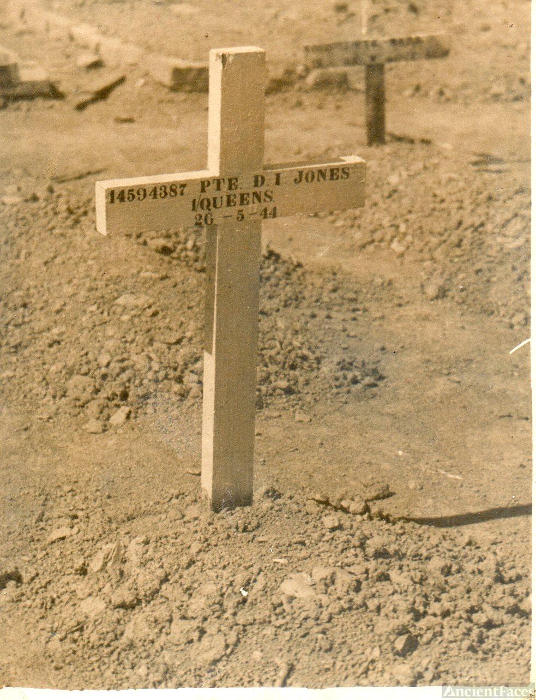 Daivd Ivor's grave