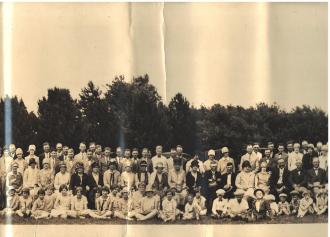 Stavanger Boarding School First Homecoming Picnic June 16, 1928 Image 5