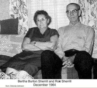 Bertha (Burton) Sherrill