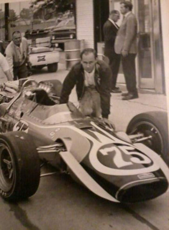 My dad and his Indy Car