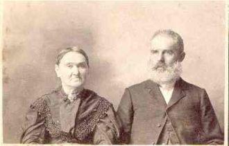 William Wesley Downing and Elizabeth Van Houten