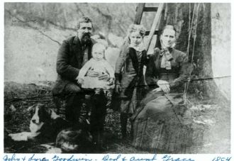John, Roy, Grace, and Syren Goodwin