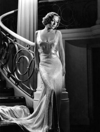 A photo of Joan Crawford