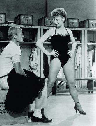 Gwen Verdon and Tab Hunter