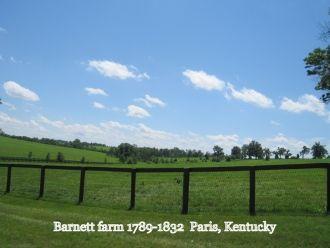 Barnett farm 1789-1832