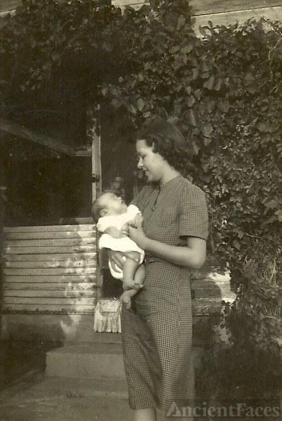 Ruth and her first born son, Robert John