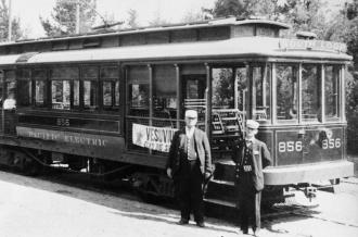 Los Angeles Streetcar, 1945
