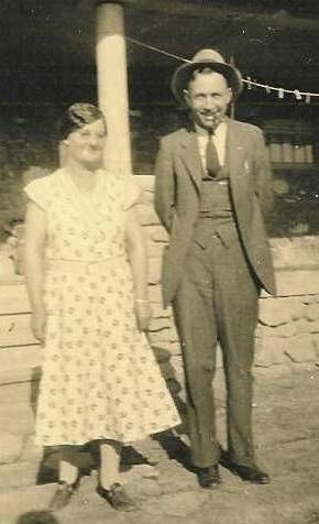 Elbert Luther Rayborn and Effie Rayborn