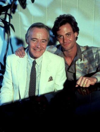 Chris and Jack Lemmon