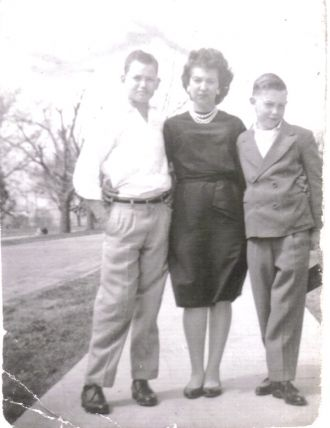 David Martin, Joyce (Irle),  and Shelby Rhoades