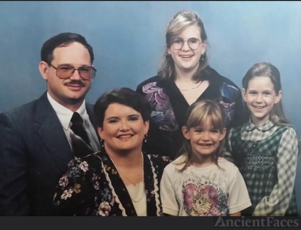 James, Faye, Allison, Ashley and Amanda Merk