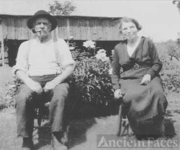 James & Mary Jane Ramsay at their farm