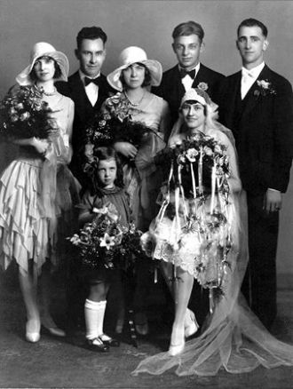 Margaret (Kirscht) & Joseph Knopik, 1929