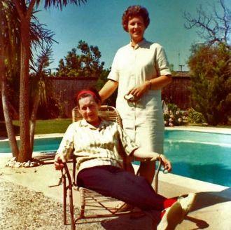 Connie D'Albert & Joyce Benning, Saratoga, CA