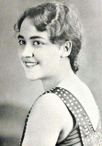 Maxine Eleanor Downey, West Virginia, 1933