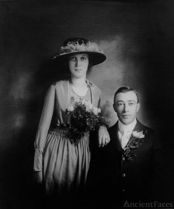 Schuyler & Eltha (Lavender) Brinkman