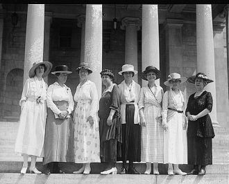 Suffragette group, 7/13/20