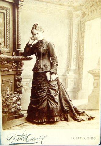 Lucy Ann (Rohr) Vogel, Ohio 1878