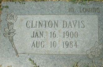 A photo of Clinton Davis