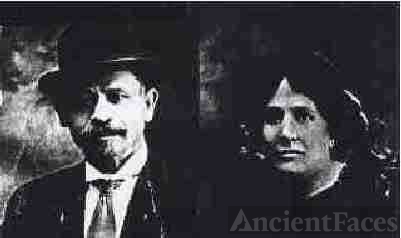 The Stationmaster and his wife: Samuel and Sarah