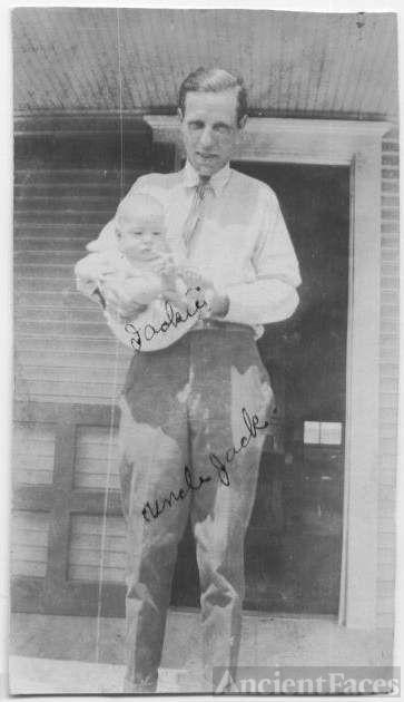 Jack & baby Jackie L. Harrel