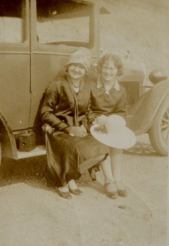 Lorena with Mrs. N.R. Craven