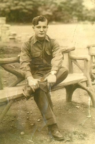 Arthur 'Jack' Pippin, Japan 1946