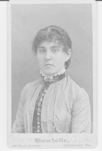 Florence E. Clark Benson, Maine