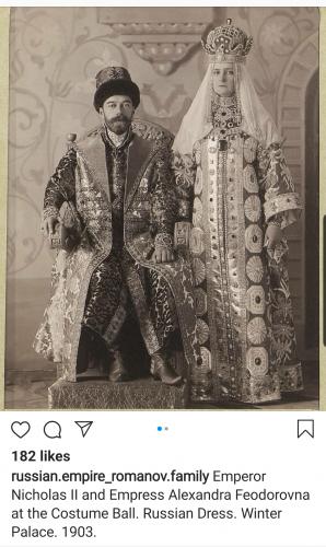 Tzar Nicholas II and Alexandra