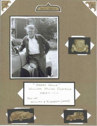 Gr Uncle: William Costello