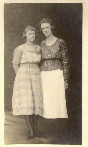 Ruth Weems and unknown woman