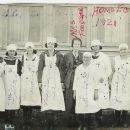 Wheeler Texas High School Home Ec Class 1921