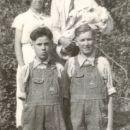 Hubert R Dobbs with family