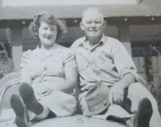 Icie Fern Barker & Harvey Frank Barker, 1948