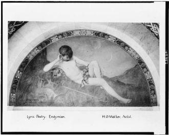 Lyric poetry; Endymion / H.O. Walker, artist.