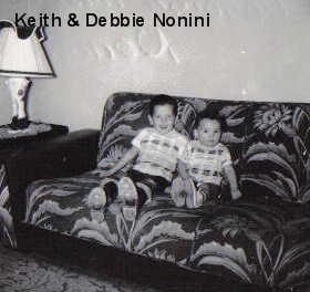 Donald Keith Nonini and Deborah Marie Nonini Ezernack Rusconi