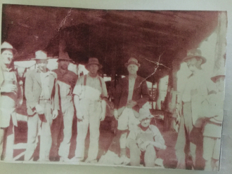The guys at saw mill Cobram