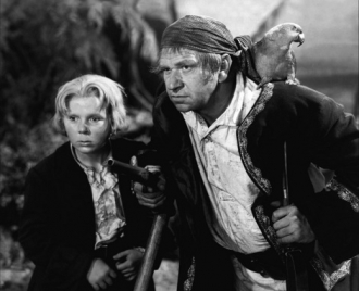 Jackie Cooper and Wallace Beery.