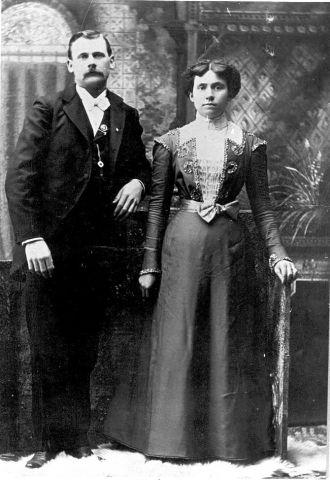 Henry Christensen & Carrie Conrad Wedding Photo