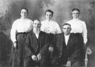 Elisha Anderson Family Circa 1910