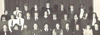 Elaine Griffiths and Carlton School UK 1970