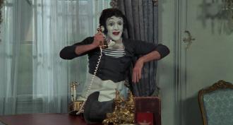 Marcel Marceau in the film SILENT MOVIE.