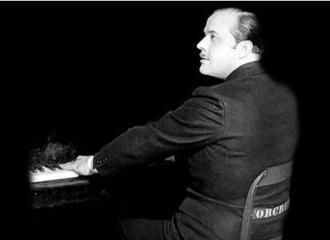 Nacio Herb Brown at the piano.