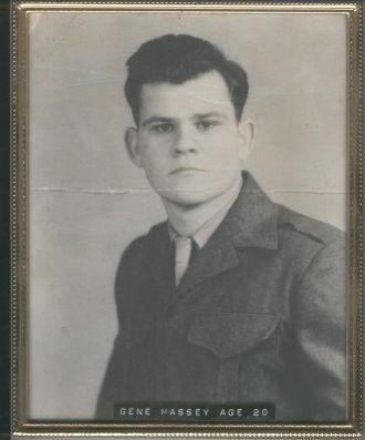 Gene Massey In USMC