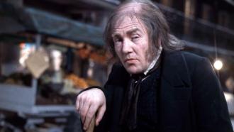 Albert Finney as Scrooge.