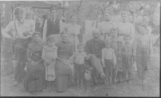 James Fry Family, Missouri