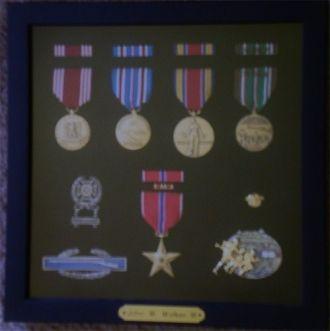 John Walker's WWII medals