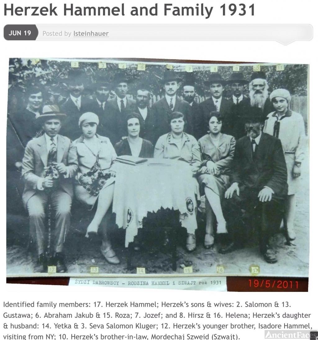 Herzek Hammel family