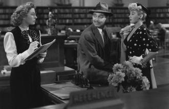Joan Blondell, Clark Gable and Greer Garson